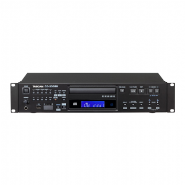 Tascam CD200SB CD Player with USB & SD/SDHC Playback